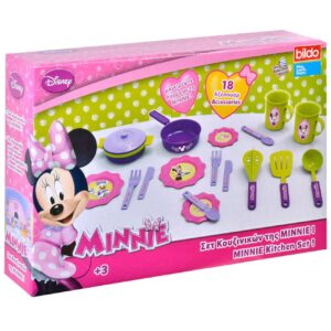 Set de bucatarie Minnie Mouse Disney 18 buc.